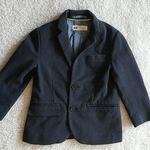 H&M Boys Navy blazer size 3-4 years